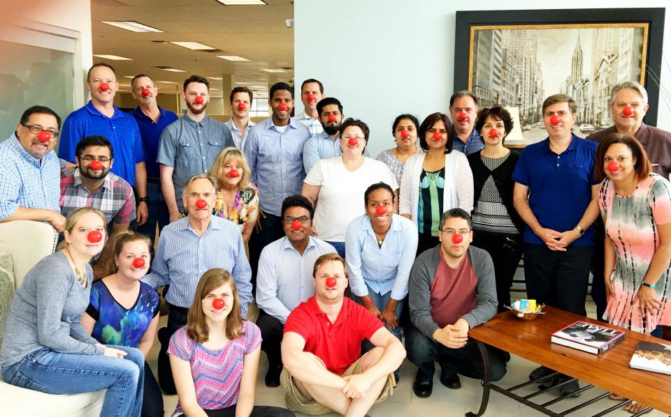 Red Nose Day at Lucernex