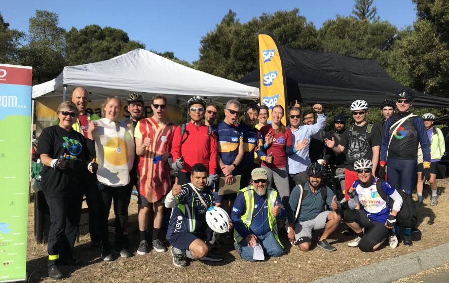 Bike to Work Day 2018 provided employees with a chance to meet fellow cyclists and enjoy a