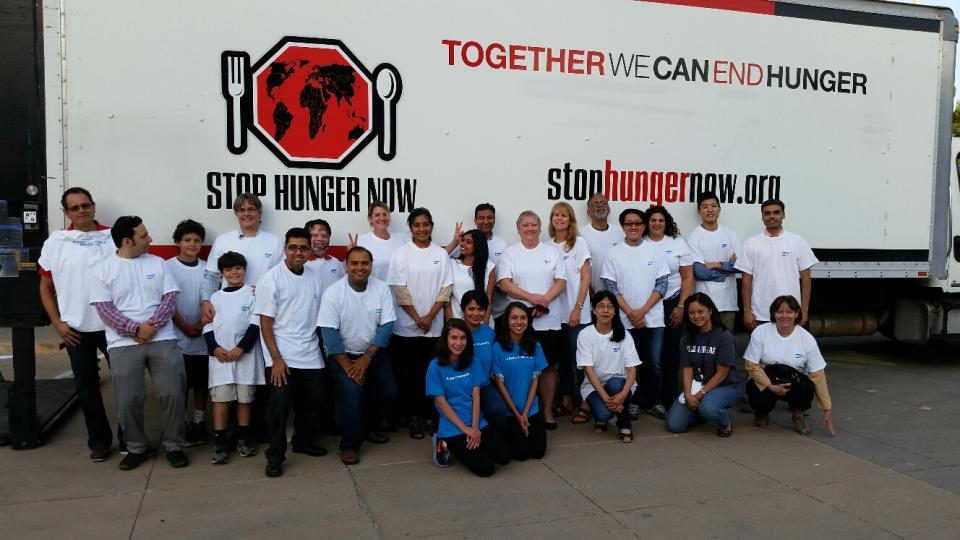 SAP employees give back by volunteering for one of the hundreds of Month of Service projects