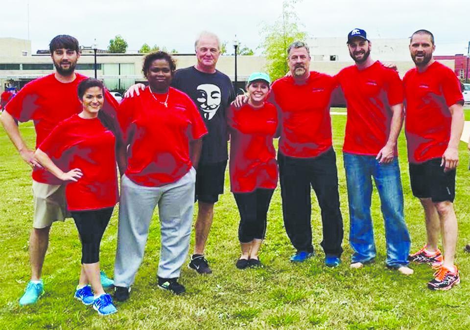 Health Fair Kickball Team