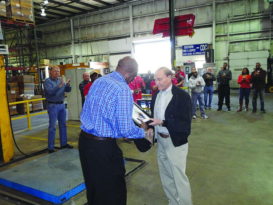 Robert Landrum Honored for 50 Years of Service