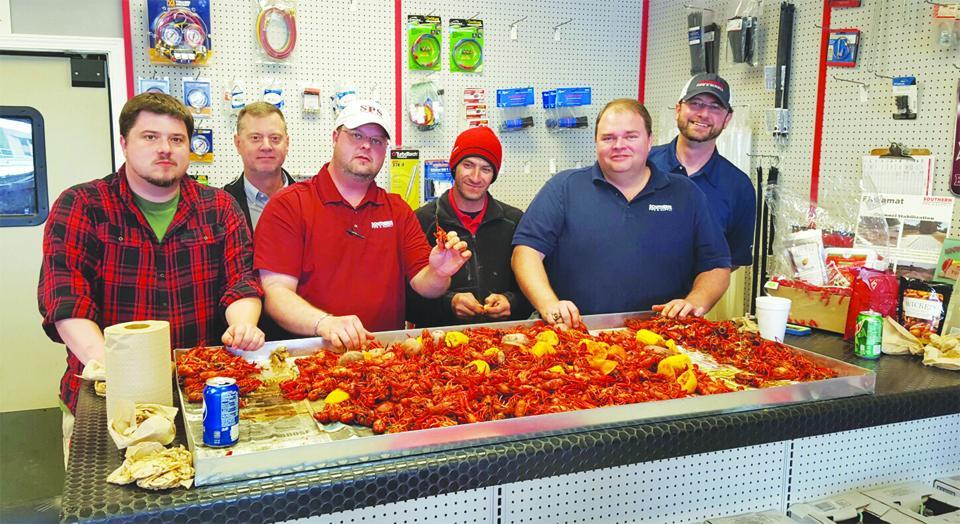 Family Member Appreciation Week Crawfish Boil