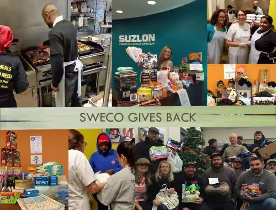 SWECO Gives Back Program