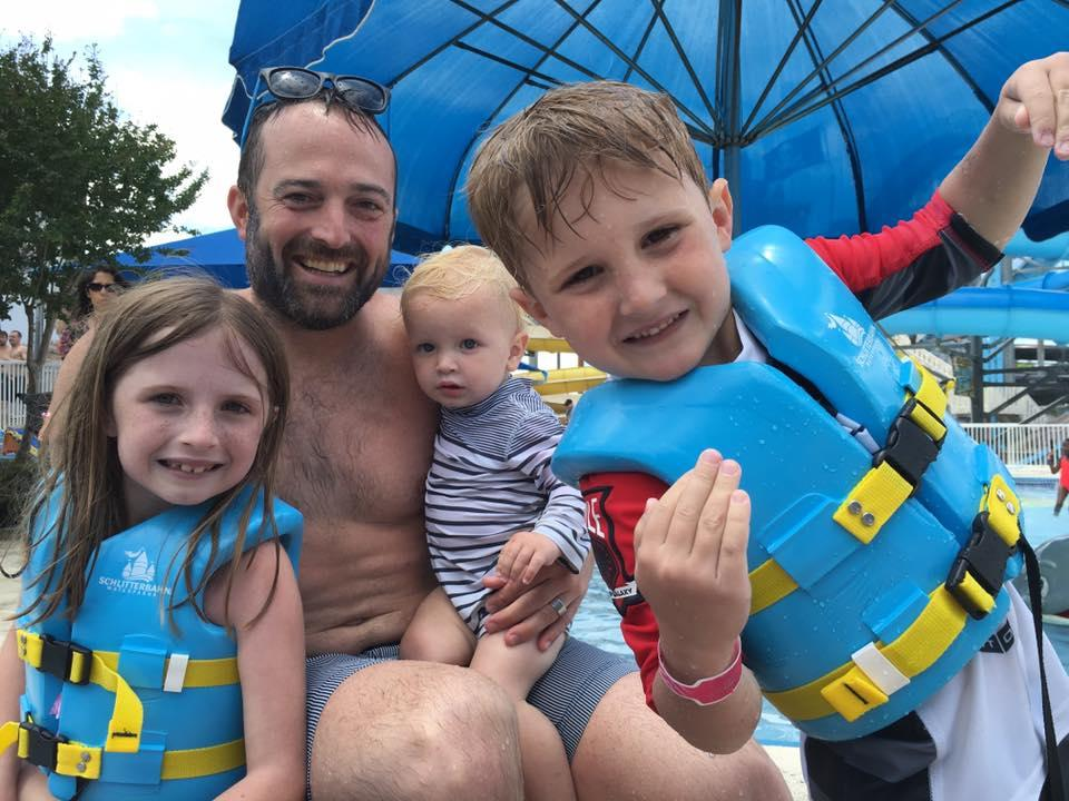 Our family picnic each year is held at Schlitterbahn Water Park in New Braunfels.