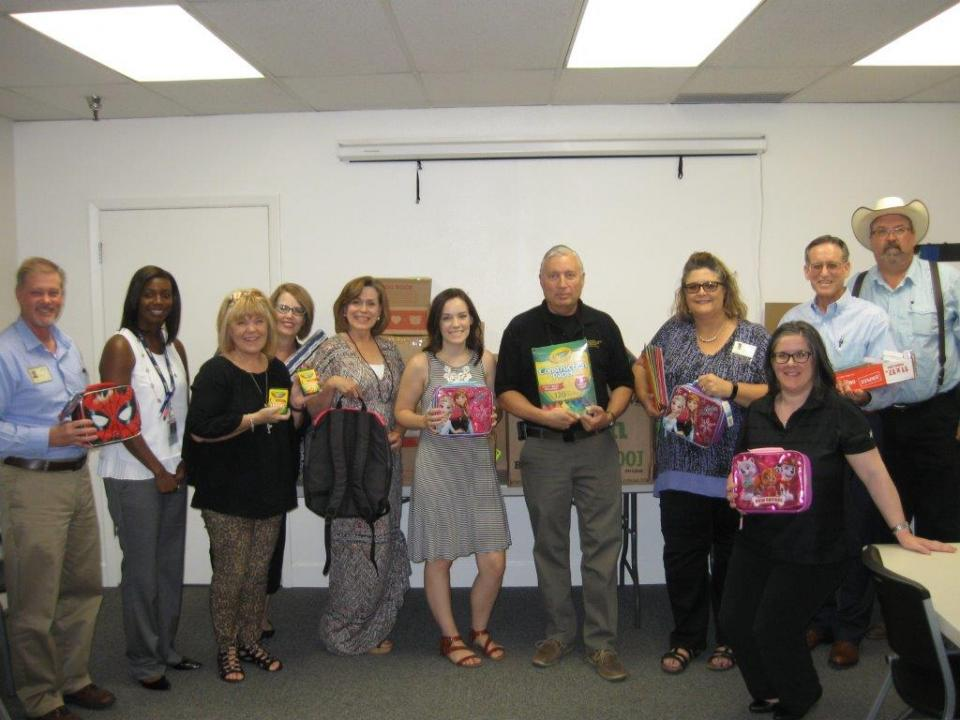 Back to School Drive for Arizona Baptist Childrens Services