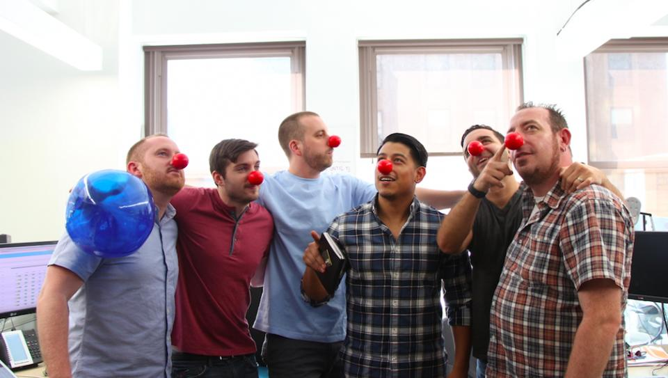 Getting Seriously Silly for Red Nose Day 2016