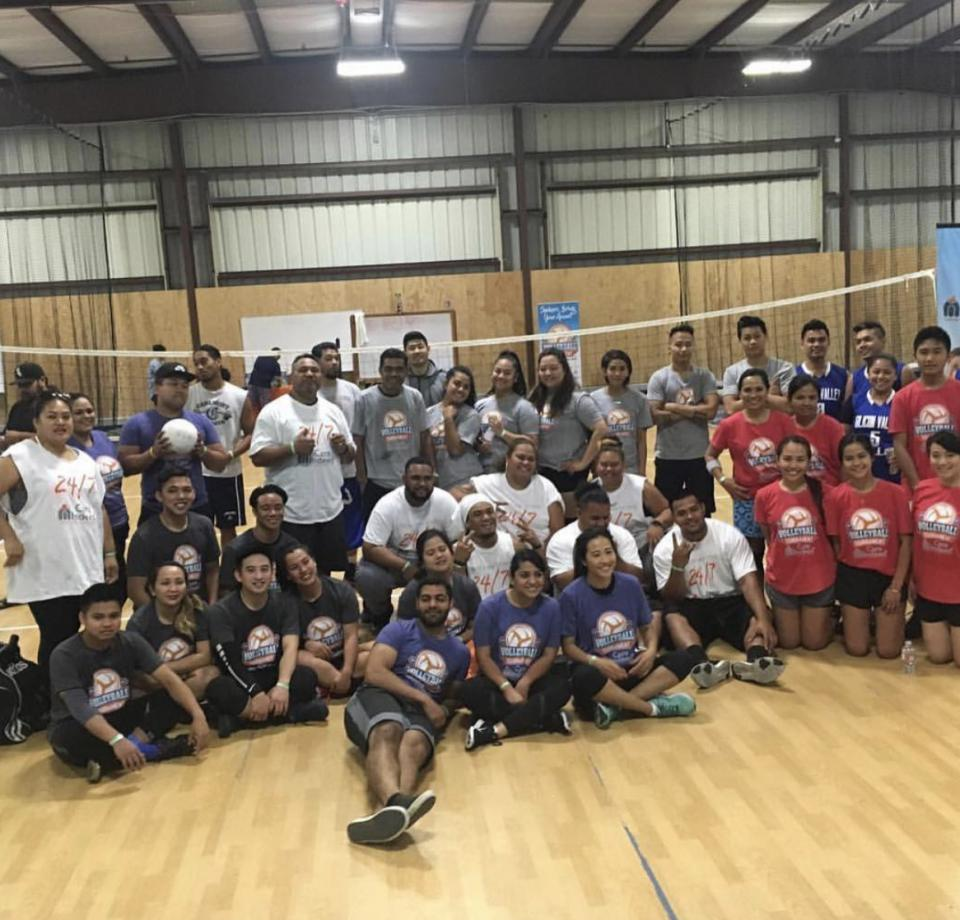 Volleyball Tournament 2017, SportsHouse in Redwood City