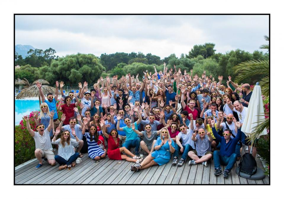 Smarties at Summer Seminar; Corsica, June 2016