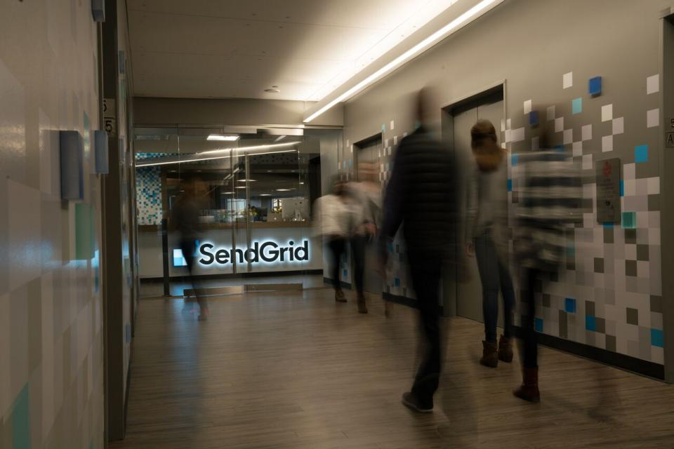 SendGrid Employees Coming & Going
