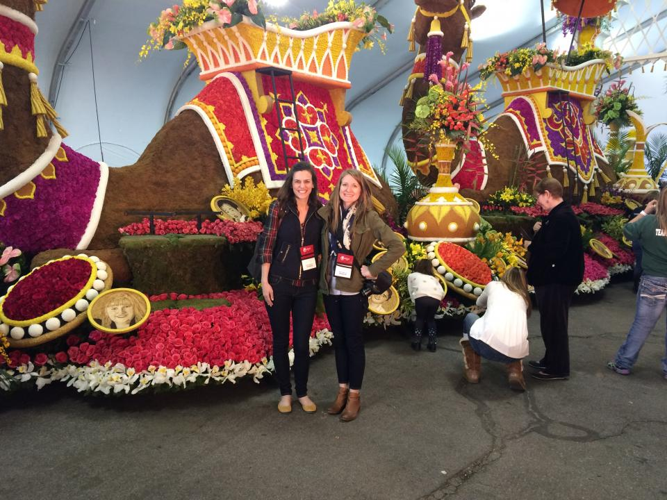 Associates witness the unveiling of the 2016 Donate Life Rose Parade Float in Pasadena, CA. Since 2008, the Company has sponsored numerous floragraphs on the New Year's Day float. Each floragraph depicts an individual who provided the life-saving gift of organ donation