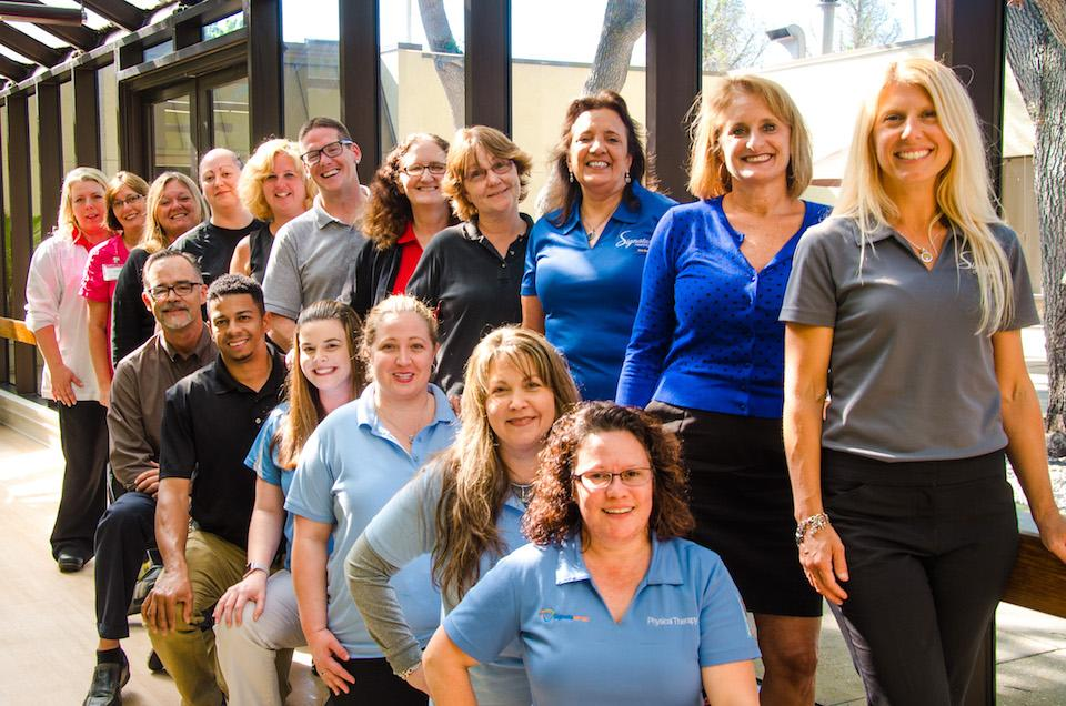 Work is a passion for physical therapists at Signature HealthCARE.