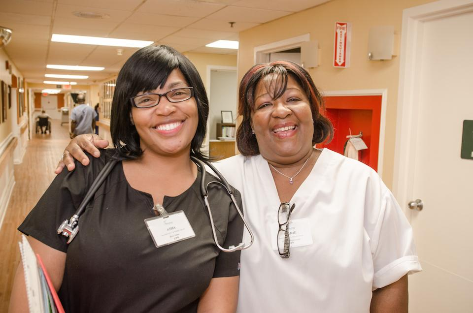 At Signature HealthCARE, we value the career growth of our nurses and CNAs.