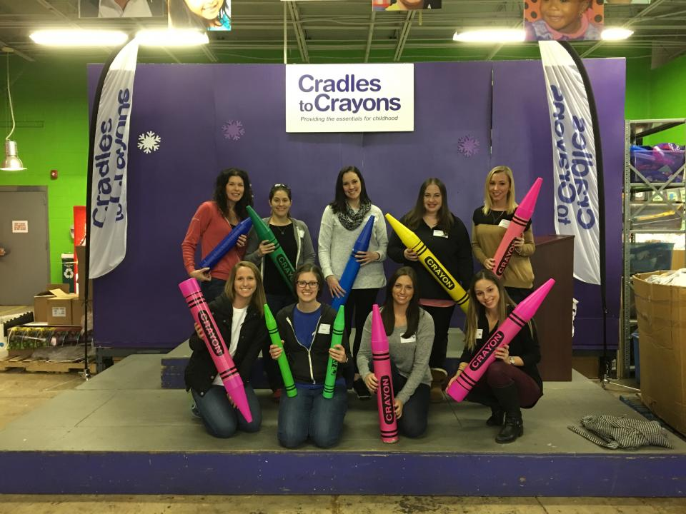 Volunteer Day at Cradles to Crayons