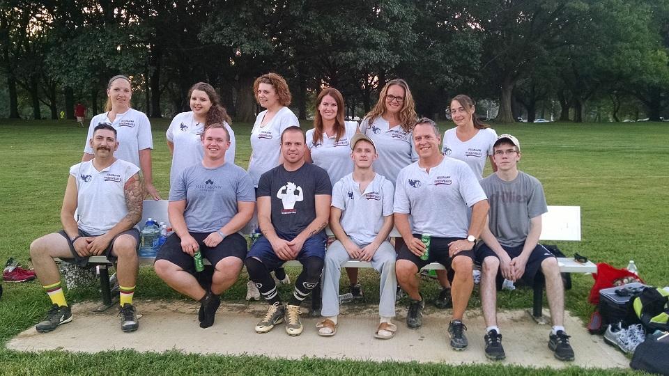 Hillmann Screwballs Softball Team
