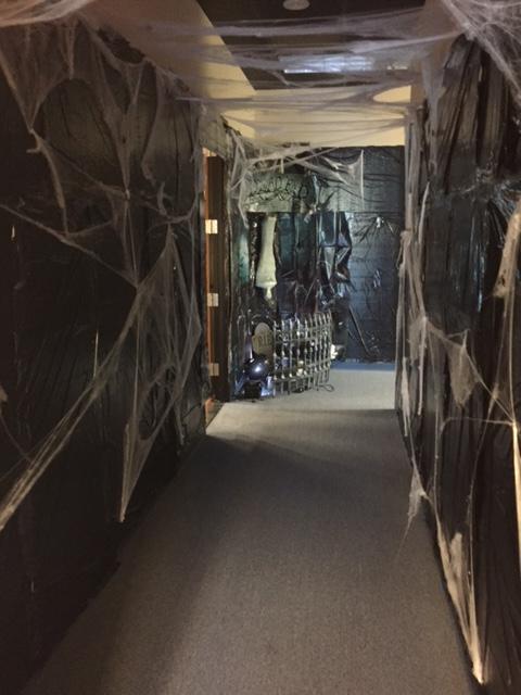 Halloween Spooky Hallway