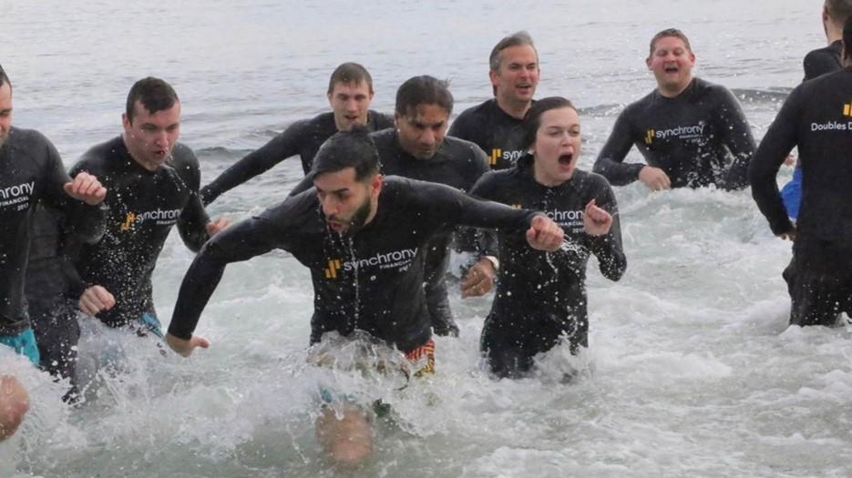 Hundreds of employees brave the elements for great causes each year.