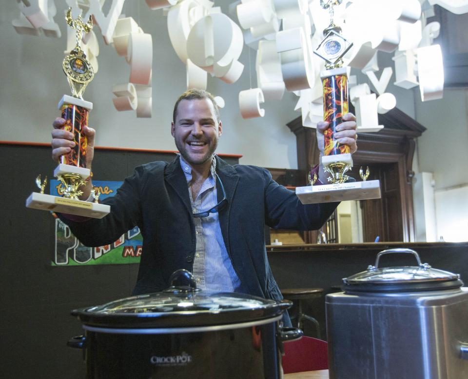 Senior Copywriter Steve Holt at Annual Chili Cook-Off