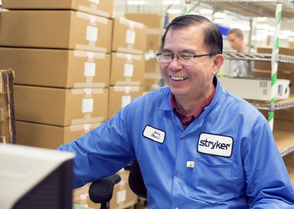Stryker's commitment to a great workplace culture has resulted in a company of men and women who are humble and hardworking, driven to excel, and enjoy coming to work each day.