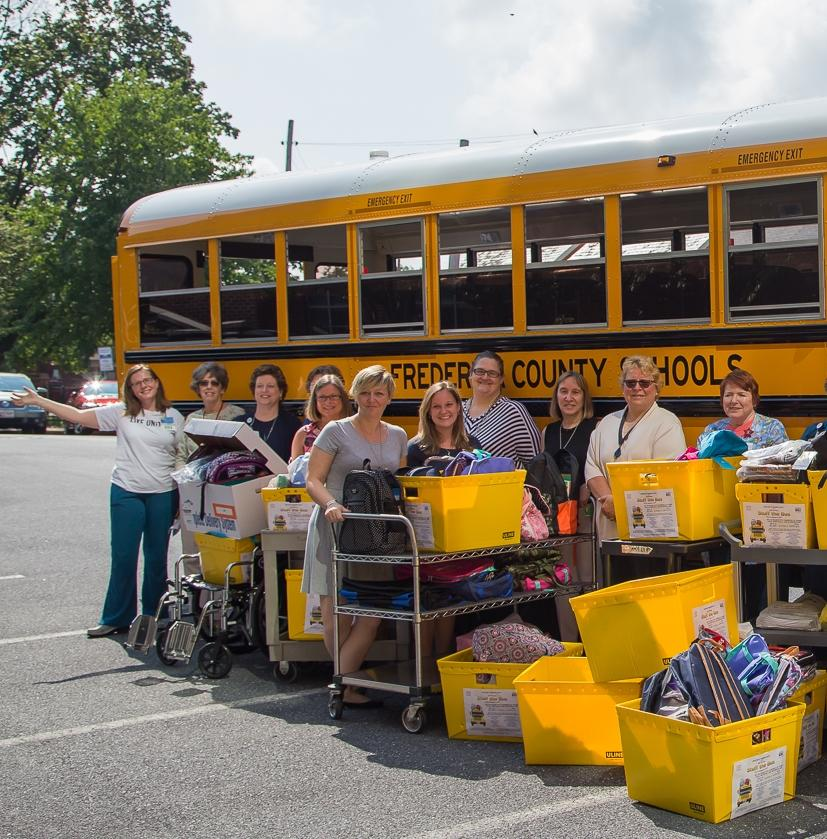 Stuff the Bus (School Supplies) for Frederick County Public Schools