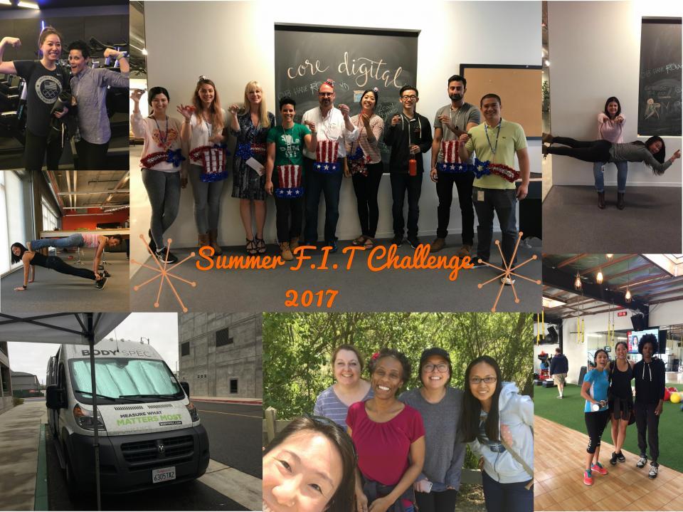 Summer F.I.T Challenge 2017