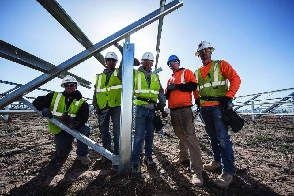 The Renewable Team at Work