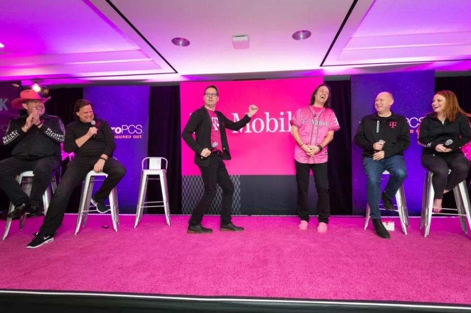 T-Mobile Senior Leaders host a town hall after earnings