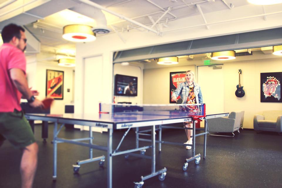 Ping-pong work break