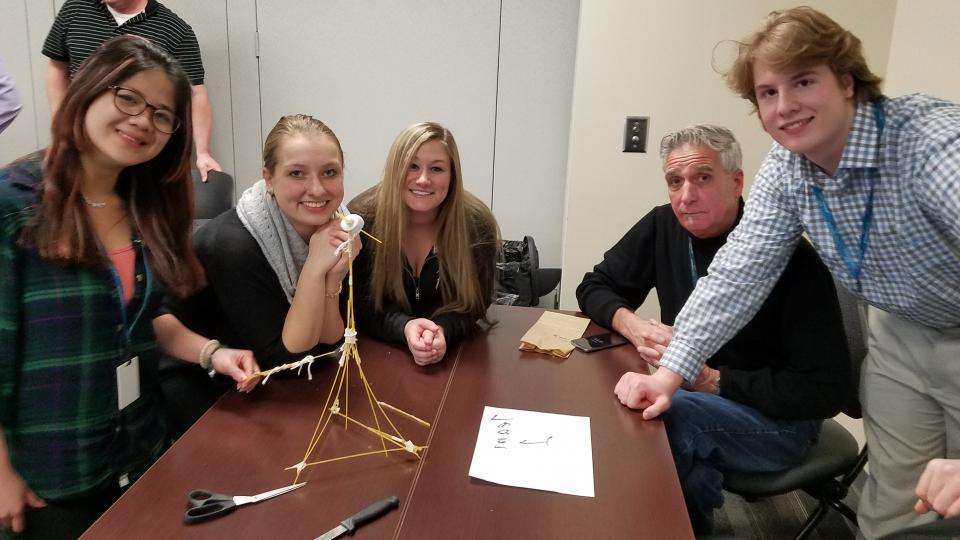 Teamwork Marshmallow Challenge