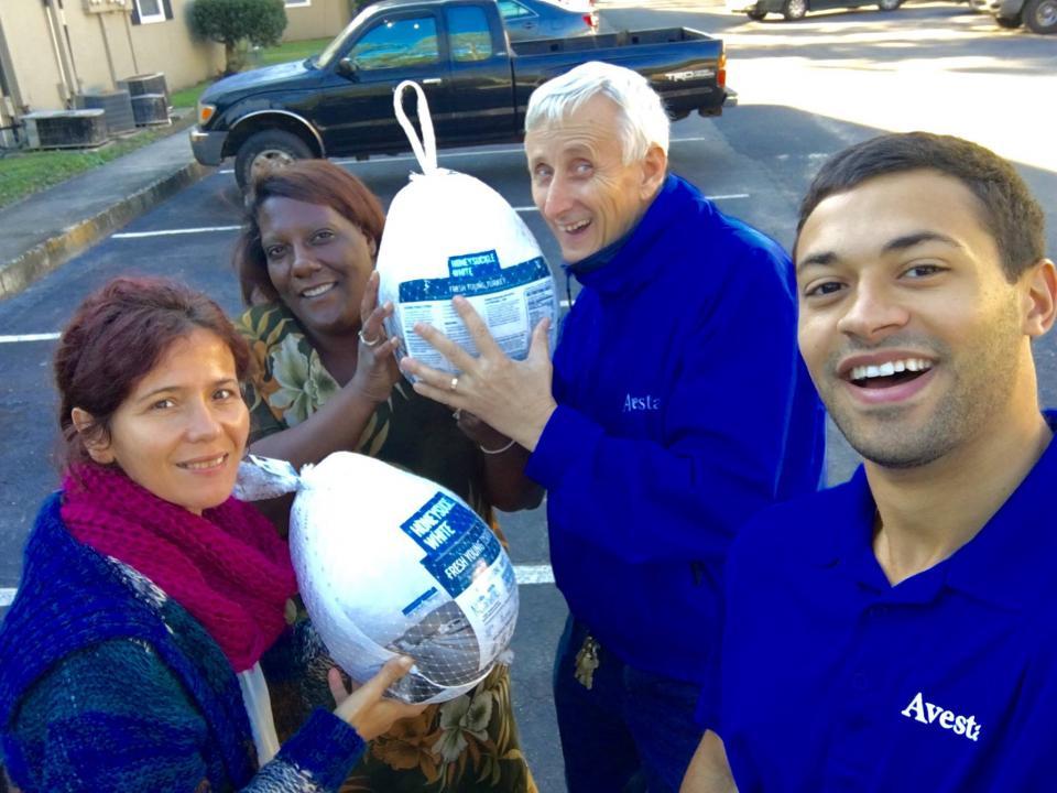 Turkey Giveaway at Avesta San Jose in Jacksonville, FL