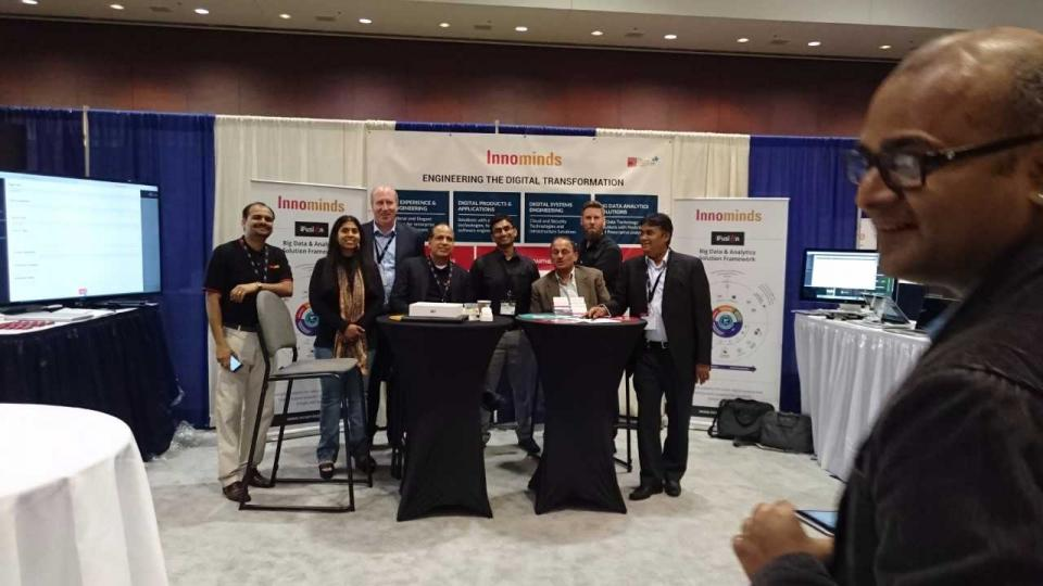 Our team in Tiecon