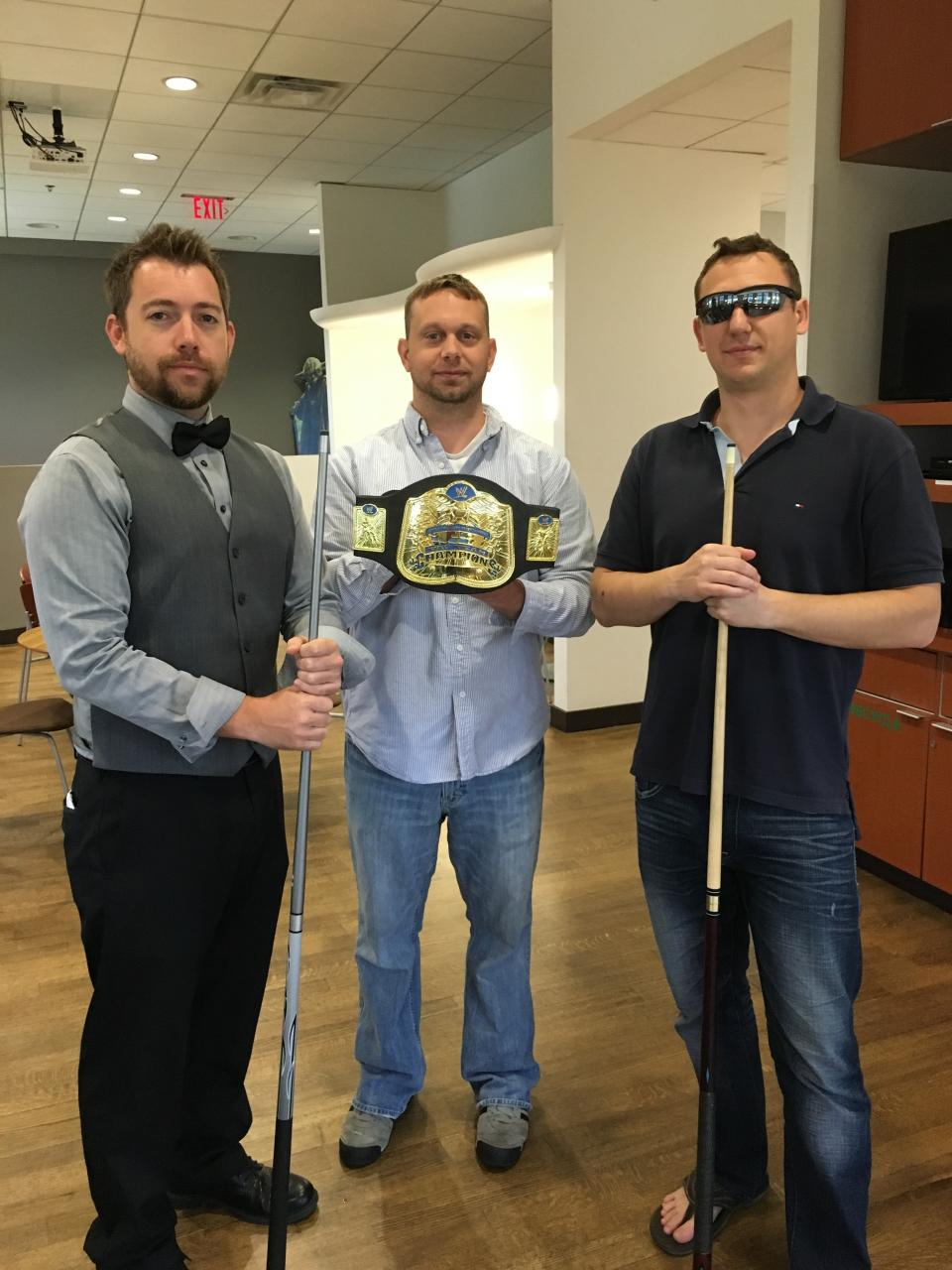 Pool tournament showdown