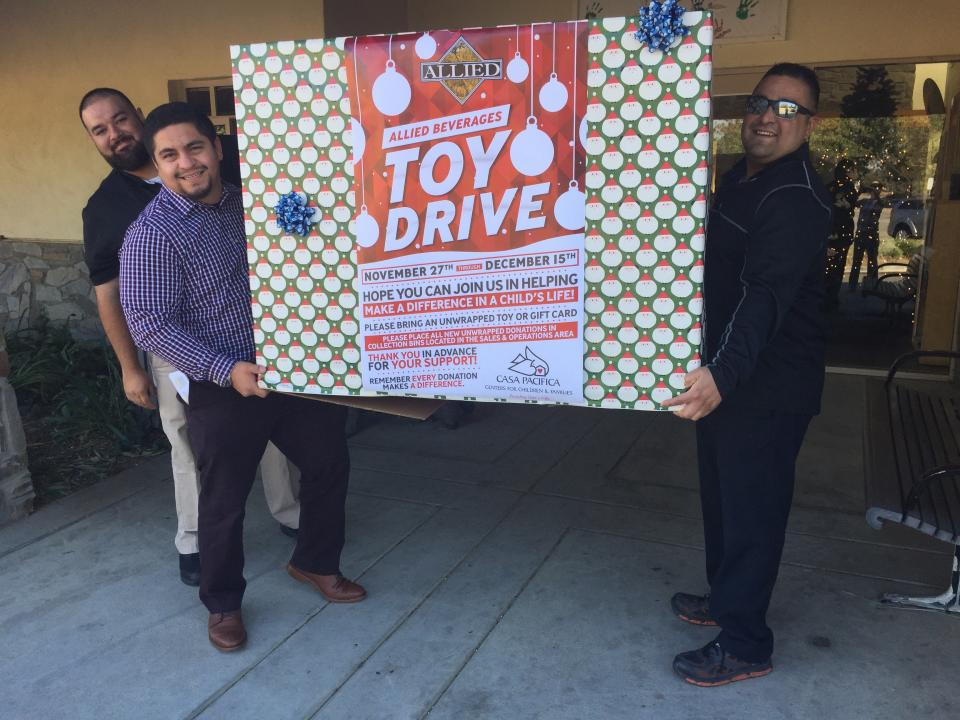 Toy Drive Donation