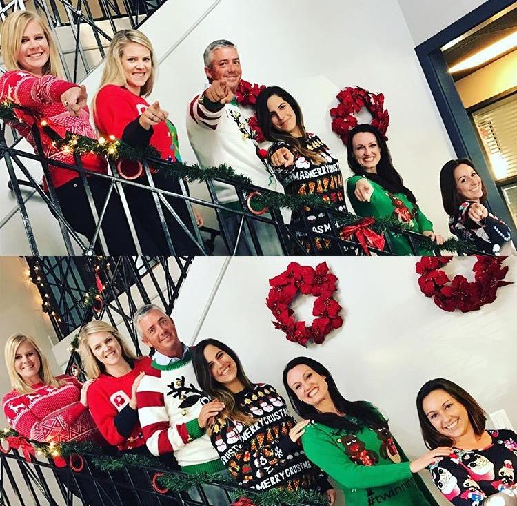 Holiday Ugly Sweater Competition