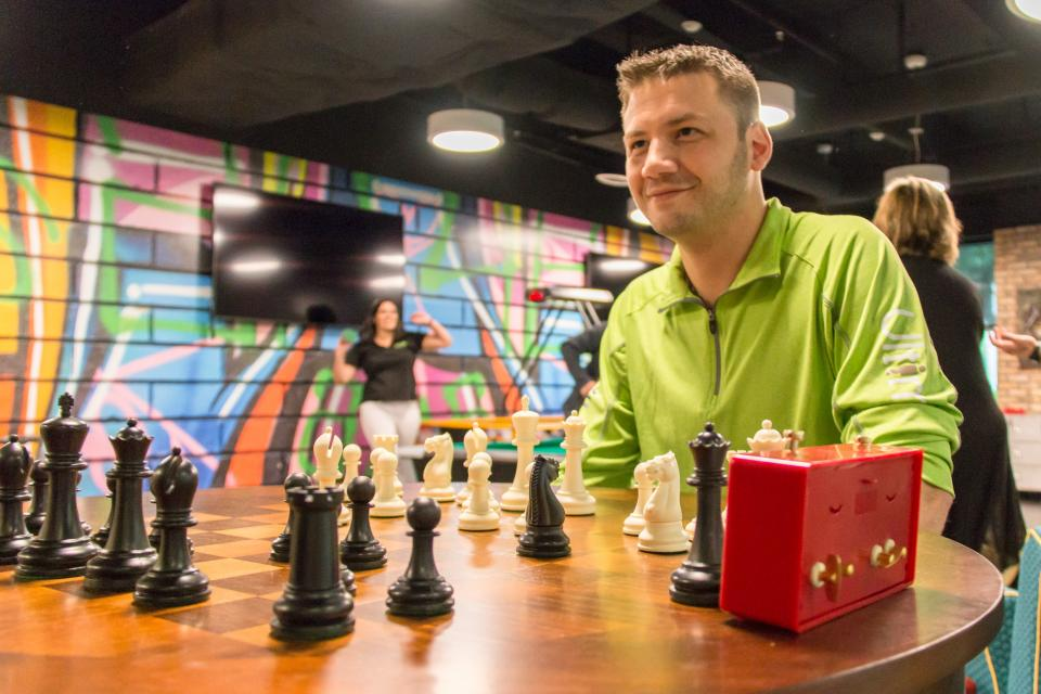 Chess in Ultimate's game room