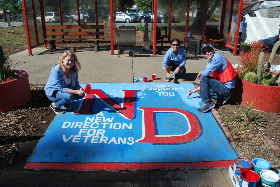 Through our annual Veterans Day of Service, employees help fulfill our commitment to support veterans.