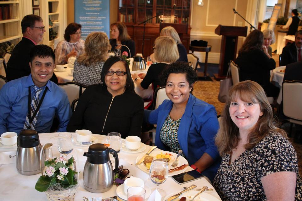 The elegant Values in Practice (VIP) Breakfast is just one of the ways ESL recognizes its employees