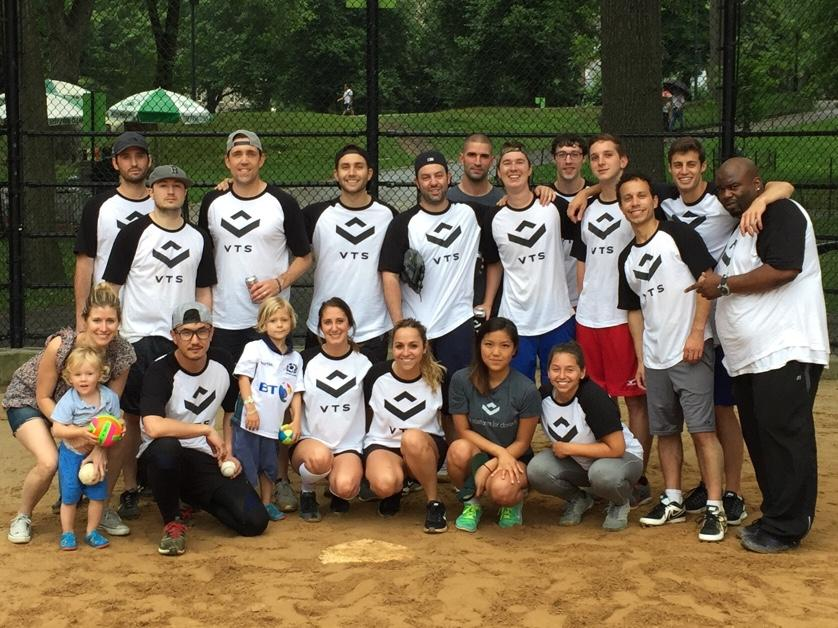 The VTS summer softball team