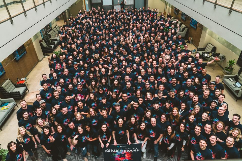 2018 Q1 All Hands Company Photo