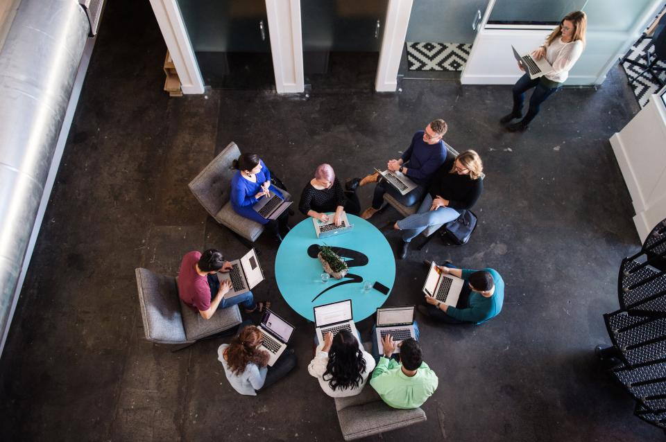 WillowTree's offices are intentionally structured to provide a variety of workspaces for each team members to find the environment that best helps them thrive.
