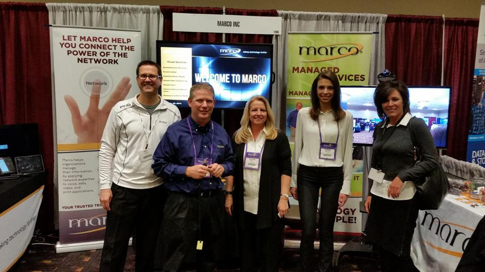 Marco Wisconsin Booth