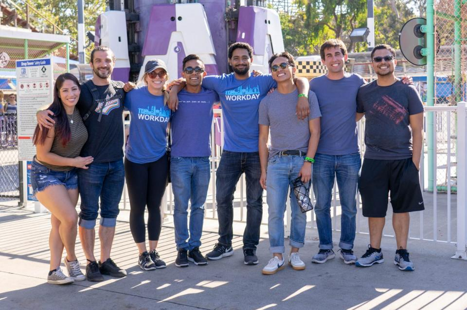 Workday Bash at Great America