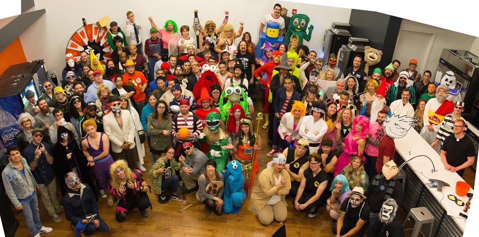 Annual Zillaween Costume Contest