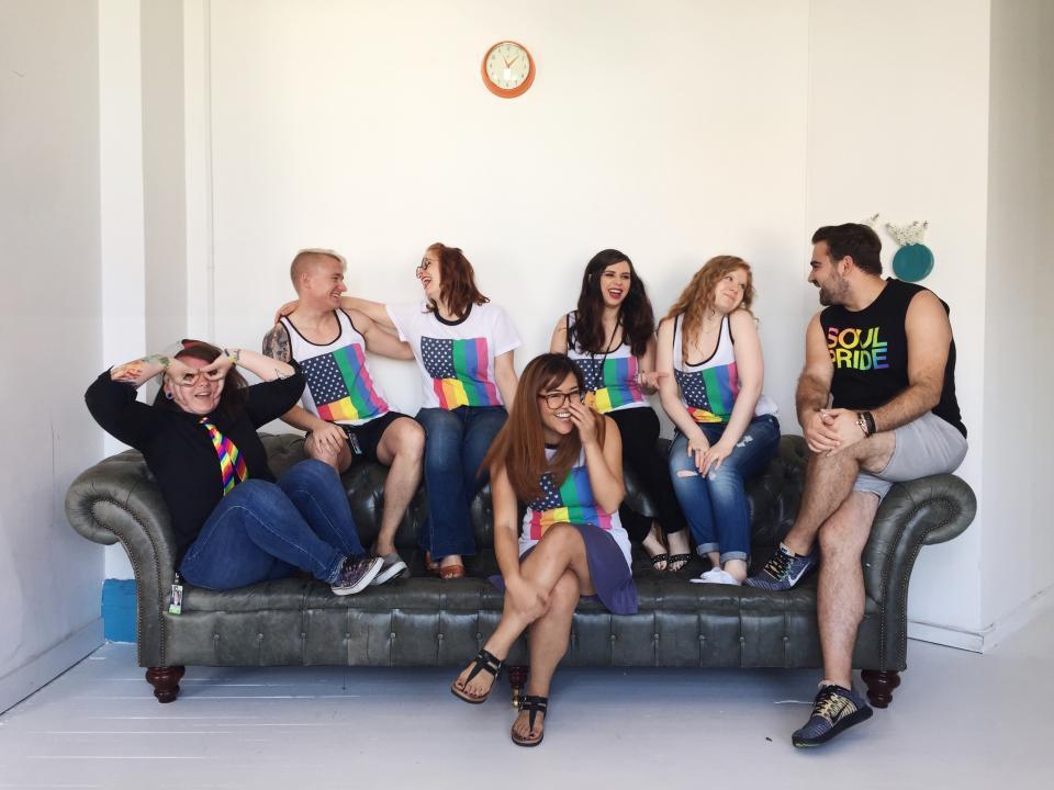 The ZocPride club celebrates NYC Pride Week.