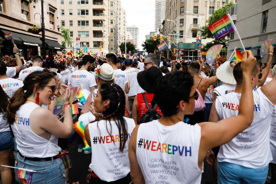 27c0d9c12878a We are PVH  Supporting individuality at Pride Parade in NYC and around the  world
