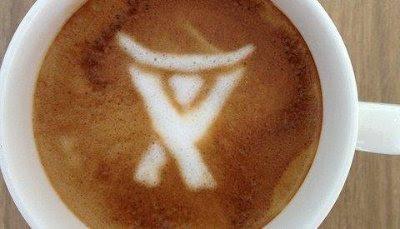 Feel the latte.