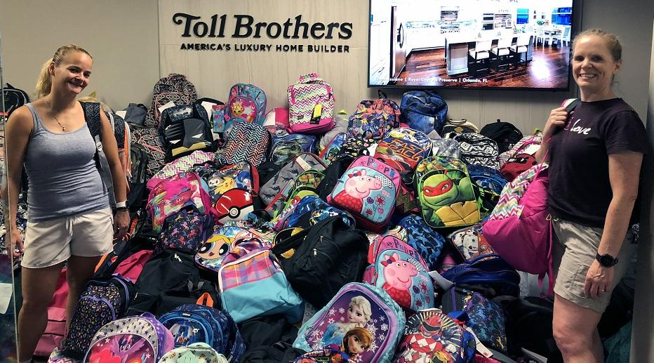 School Backpack Donation