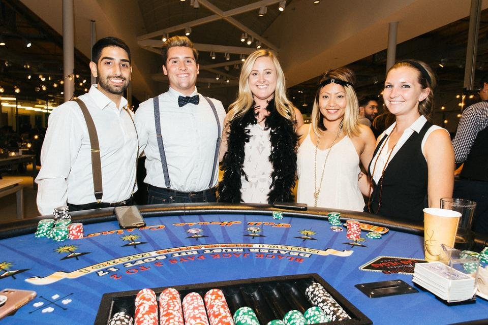 Hanging out at Casino Night