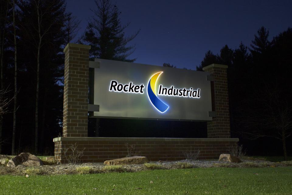 Rocket headquarters sign