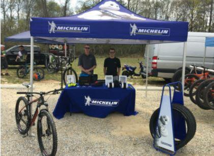 Michelin's Dothan, Ala., facility recently sponsored the International Mountain Bicycling Association-Southern Off-Road Bicycle Association's (IMBA-SORBA) Regional Bike Summit at Troy University Dothan with more than 100 Southeastern mountain bikers participating. Featu