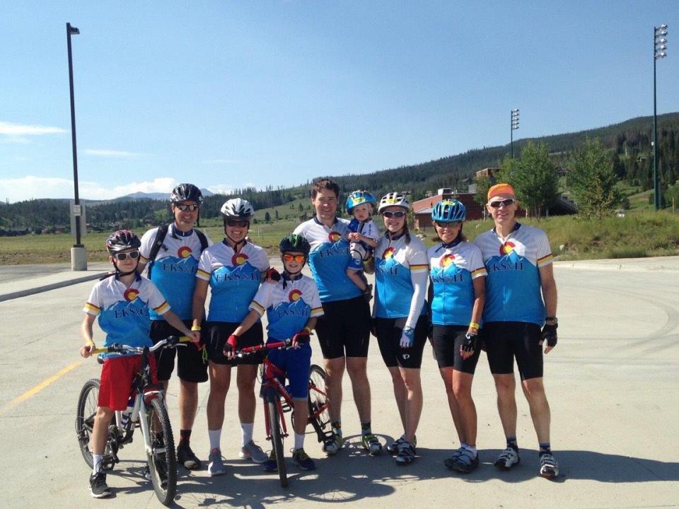 EKSH family bike trip